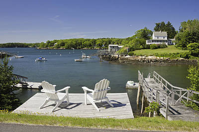 Coastal Maine Photograph - South Bristol On The Coast Of Maine by Keith Webber Jr