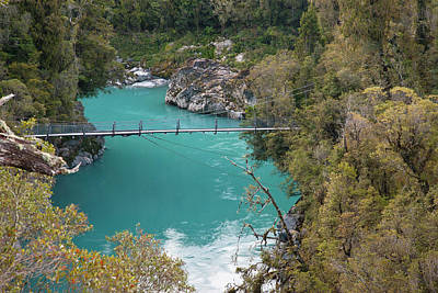 New River Gorge Bridge Photograph - South Pacific, New Zealand, South Island by Jaynes Gallery