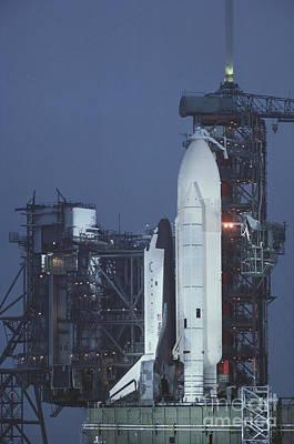 Space Shuttle Columbia Art Print