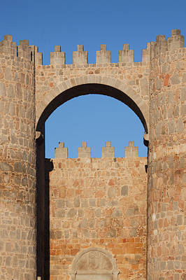 Spain, Castilla Y Leon Region, Avila Print by Walter Bibikow