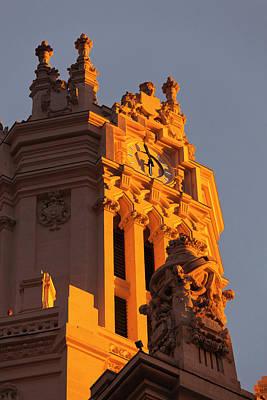 Spain, Madrid, Plaza De La Cibeles Art Print