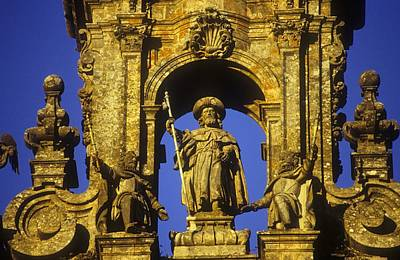 Spain. Santiago De Compostela Art Print by Everett