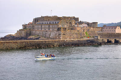 Castle Photograph - St Peter Port - Guernsey by Joana Kruse