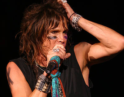 Steven Tyler Photograph - Steven Tyler Aerosmith by Don Olea