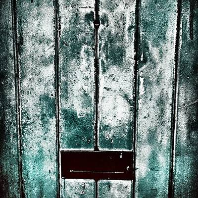 Abstract Wall Art - Photograph - The Blue Door by Jason Michael Roust