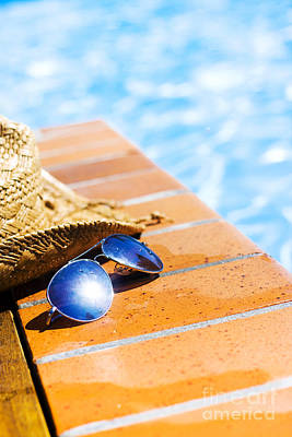 Poolside Photograph - Summer Vacation by Jorgo Photography - Wall Art Gallery