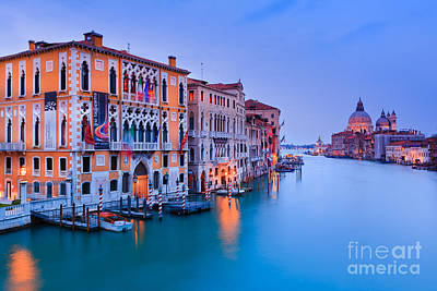 Sunset In Venice Art Print by Henk Meijer Photography