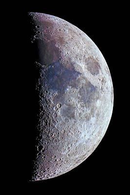 Terminator Photograph - Surface Of The Moon by Babak Tafreshi