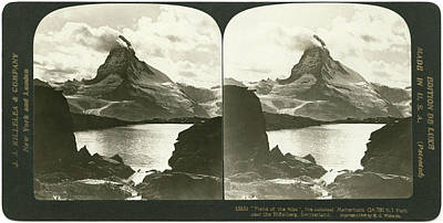 Switzerland Painting - Switzerland Matterhorn by Granger