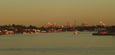 Food And Flowers Still Life Rights Managed Images - Sydney sunset Royalty-Free Image by Girish J