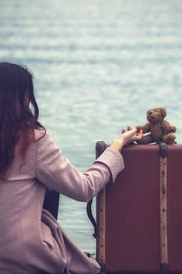 Teddy Bear Art Print by Joana Kruse