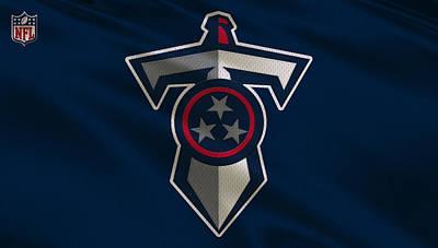 Tennessee Titans Uniform Art Print