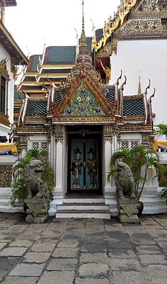 Photograph - Thai Kings Grand Palace by Sumit Mehndiratta