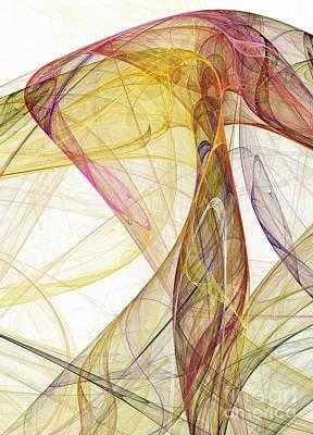 Sumac Flower Digital Art - The Colorful Nest by Odon Czintos