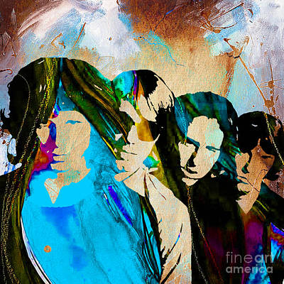 Sixties Mixed Media - The Doors Collection by Marvin Blaine