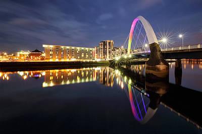 Modern Man Surf - The Glasgow Clyde Arc Bridge by Grant Glendinning