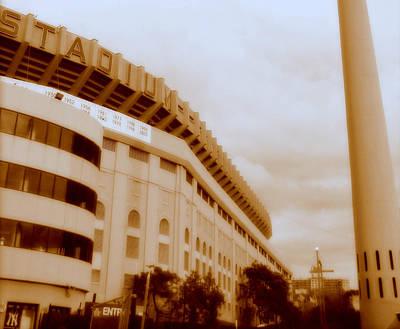 Yankee Stadium Photograph - The House That Ruth Built by Aurelio Zucco