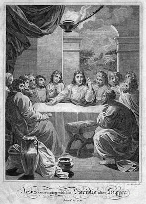 Drawing - The Last Supper by Granger