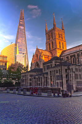London Skyline Royalty-Free and Rights-Managed Images - The Shard London skyline by David French