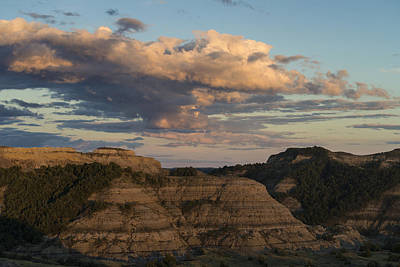 Photograph - Theodore Roosevelt National Park, North by Mark Newman