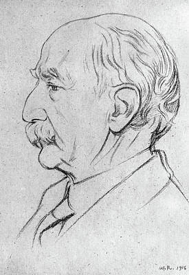 Hardy Drawing - Thomas Hardy (1840-1928) by Granger