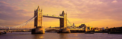 Tower Bridge London England Art Print by Panoramic Images