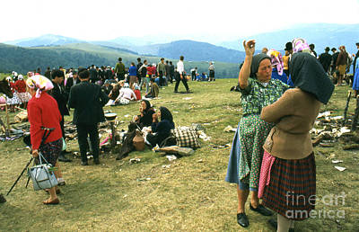 Photograph - Transylvanian Fair 1969 by Erik Falkensteen