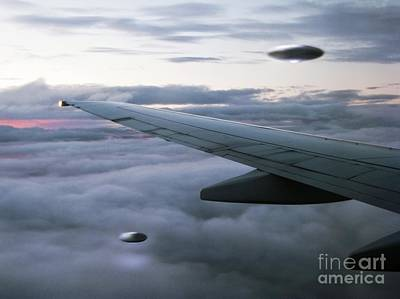 Ufo Sighting Art Print