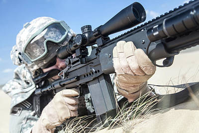 Photograph - United States Airborne Infantry by Oleg Zabielin