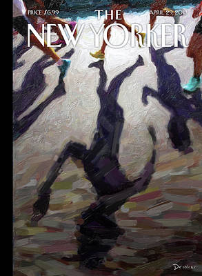 Terrorism Painting - New Yorker April 29th, 2013 by Eric Drooker
