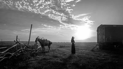 Wagon Photograph - Untitled by Mikhail Potapov