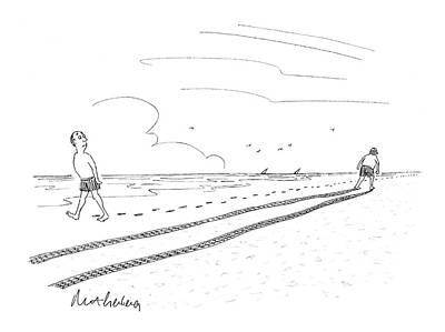 New Yorker July 7th, 2008 Art Print