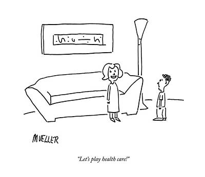 Let's Play Health Care! Art Print