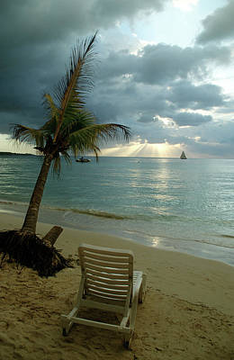 Jamaican Sunset Photograph - Untitled by Thomas Aichinger