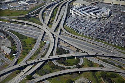 San Francisco International Airport Photograph - Usa, California, San Francisco by David Wall