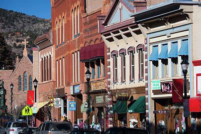 Usa, Colorado, Manitou Springs, Manitou Art Print