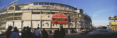 Usa, Illinois, Chicago, Cubs, Baseball Art Print