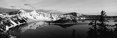 Usa, Oregon, Crater Lake National Park Art Print