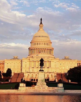Capitol Building Wall Art - Photograph - Usa, Washington Dc, Capitol Building by Walter Bibikow