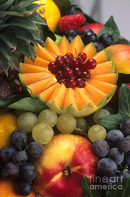 Multi Colored Photograph - Variety Of Fruits. by Bernard Jaubert
