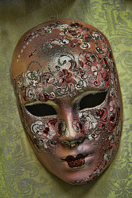 Photograph - Venetian Carnaval Mask by David Smith