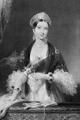 Crown Victoria Painting - Victoria Of England (1819-1901) by Granger
