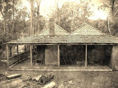 Australian Photograph - Vintage Town by Andrew Hunt