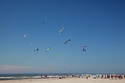 Kite Photograph - Wa, Long Beach, International Kite by Jamie and Judy Wild