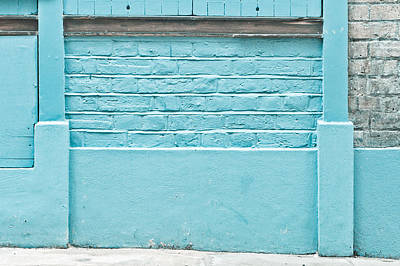 Color Block Photograph - Wall Background by Tom Gowanlock