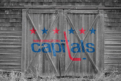 Photograph - Washington Capitals by Joe Hamilton
