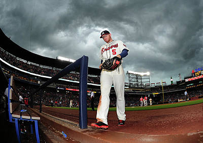 Photograph - Washington Nationals V Atlanta Braves by Scott Cunningham
