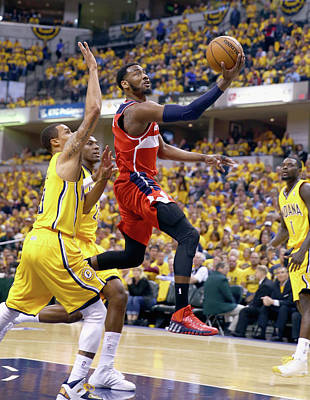 Photograph - Washington Wizards V Indiana Pacers - by Andy Lyons