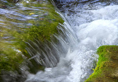 Peace Photograph - Waterfall by Modern Art Prints