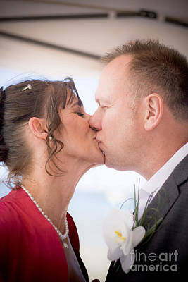 Smooch Photograph - Wedding Kiss by Jorgo Photography - Wall Art Gallery